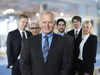 Group of six business partners - STKF000523