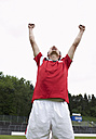 Soccer player celebrating - STKF000668