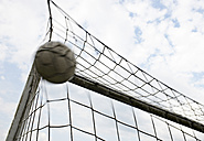 Soccer ball in goal - STKF000667