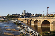 France, Burgundy, Loire bridge in Nevers - DHL000184