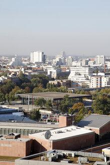 Germany, Berlin, Roof top view of city - JMF000253