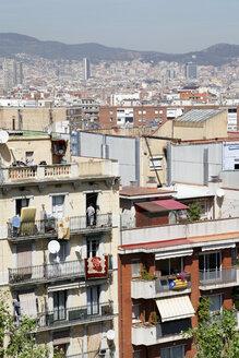 Spain, Barcelona, City view - JMF000257