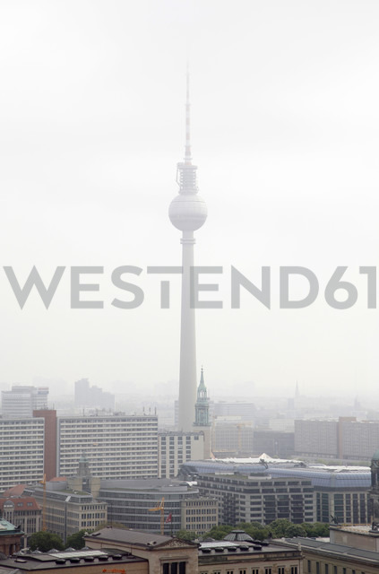Germany, Berlin, Roof top view with TV tower - JMF000263 - Pascal Miller/Westend61