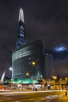 UK, London, London, view to The Shard at night - DISF000166