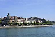 Germany, Baden-Wuerttemberg, Constanze, promenade at lake constance - AXF000547