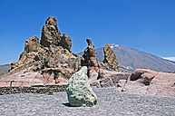 Spain, Canary Islands, Tenerife, Mount Teide, Teide National Park, Roques de Garcia - UMF000667