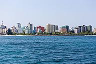 Maldives, View of Male - AMF001262