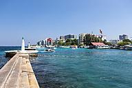 Maldives, View of Male - AMF001267