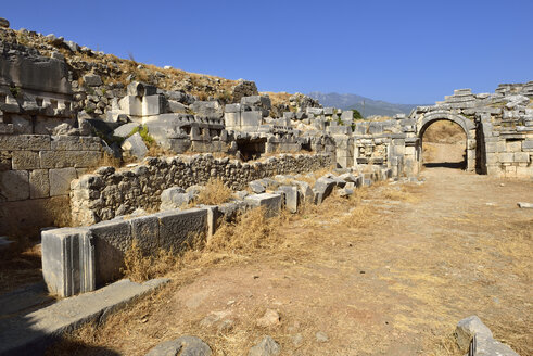 Turkey, Antalya Province, antique theater, archaeological site of Xanthos - ES000773