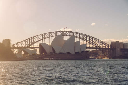 Australia, Sydney, Harbour Bridge and Opera House - MBEF000864