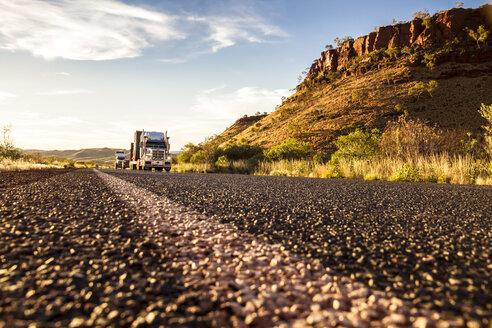 Australia, Australian Truck on road - MBEF000878
