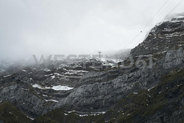Switzerland, Canton of St. Gallen, Saentis, cloud - ELF000646 - Markus Keller/Westend61