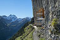 Switzerland, Canton Appenzell Innerrhoden, Ebenalp, mountain inn Aescher - EL000641