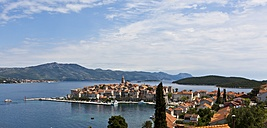 Croatia, Dalmatia, View of Korcula - AMF001335