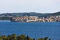 Croatia, Dalmatia, View of Korcula - AMF001334