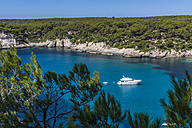 Spain, Balearic Islands, Menorca, Cala Galdana - MAB000171