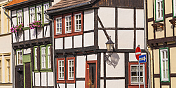 Germany, Saxony-Anhalt, Quedlinburg, Timber-framed houses - WD002056