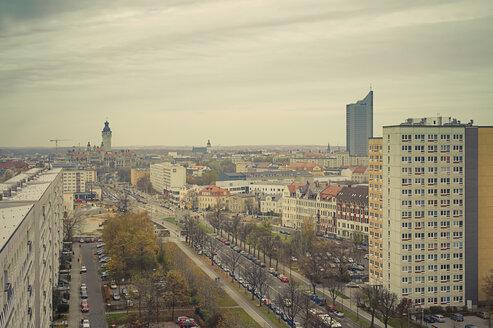 Germany, Saxony, elevated view of Leipzig - MJ000433