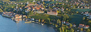 Germany, Baden-Wurttemberg, Meersburg, Aerial view - SH001085