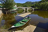 Montenegro, Crna Gora, bridge at Rijeka Crnojevica, Skadar Lake National Park - ES000818