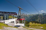 Germany, Bavaria, Oberallgaeu, Oberstdorf, Station Schlappoldsee, Fellhorn - WG000107