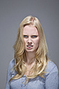 Portrait of angry young woman - MAEF007522