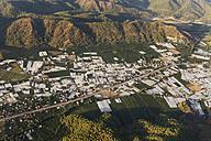 Turkey, Mugla, Ortaca, Greenhouses, aerial photo - SIEF004769