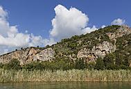 Turkey, Dalyan, Lycian Rock Tombs of Kaunos - SIE004746