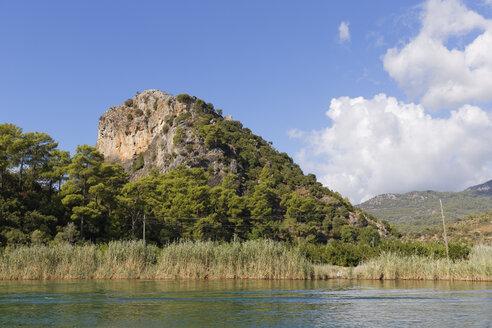 Turkey, Dalyan, Mountain fortress of Kaunos - SIE004742