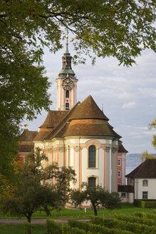 Germany, Baden Wuerttemberg, View of Birnau Basilica - MSF003121