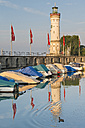 Germany, Bavaria, Lindau, Lighthose at Lake Constance - SH001132