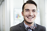 Germany, Neuss, Portrait of a business man - STKF000844