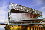 Iceland, Reykjavik, view to Harpa concert hall - MBE000939