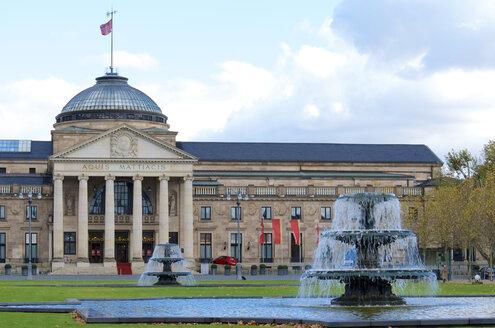 Germany, Hesse, Wiesbaden, Kurhaus - MHF000244