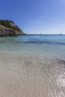 Spain, Balearic Islands, Menorca, Cala Mitjana - MAB000180