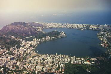 Brazil, Rio de Janeiro, Corcovado, View of the city - AMCF000018