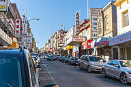 USA, California, San Francisco, street in Chinatown - ABA001095