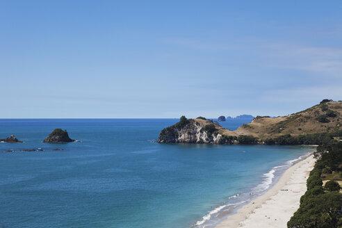New Zealand, Coromandel Peninsula, Hahei Beach - GW002424