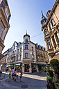 Germany, Hesse, Wiesbaden, Stores in the old town - WD002132
