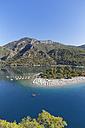 Turkey, Lycia, Beach and lagoon of Oeluedeniz - SIEF004881
