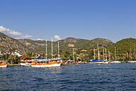 Turkey, Mugla, Yachts in Goecek - SIEF004897