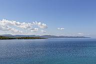 Turkey, Gulf of Goekova, Resadiye Peninsula seen from Sedir Island - SIEF004870