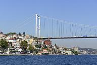Turkey, Istanbul, Fatih Sultan Mehmet bridge - LH000330