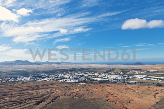 Spain, Lanzarote, view to Teguise - MFF000698