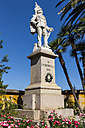 Italy, Liguria, Santa Margherita Ligure, Monument of Umberto I of Italy - AMF001470