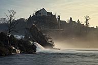 Switzeland, Schaffhausen, Rhine falls with Laufen Castle - ELF000723
