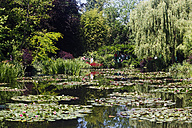 France, Eure, Giverny, Claude Monet's garden with lily pond - BI000195