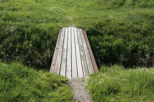 Sweden, Trelleborg, little wooden bridge - VI000203