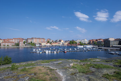 Sweden, Karlskrona, view to city - VI000216