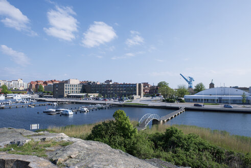 Sweden, Karlskrona, view to commercial zone - VI000218